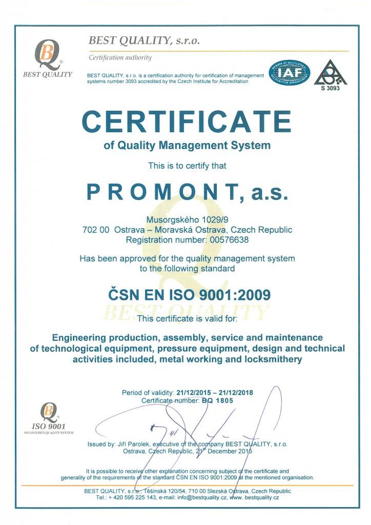 Сертификат исо9001-2000 по безопасности производства сертификация слаботочки